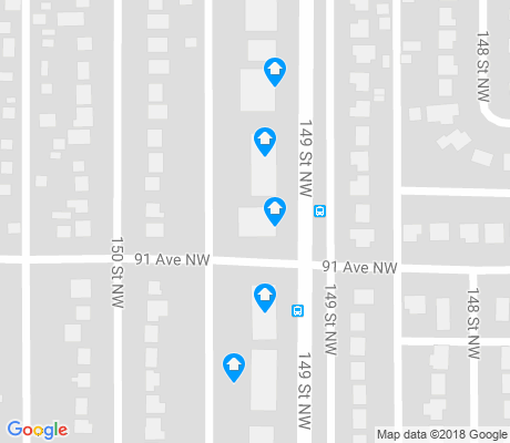 map of Jasper Park apartments for rent