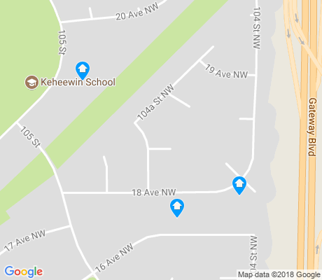 map of Keheewin apartments for rent