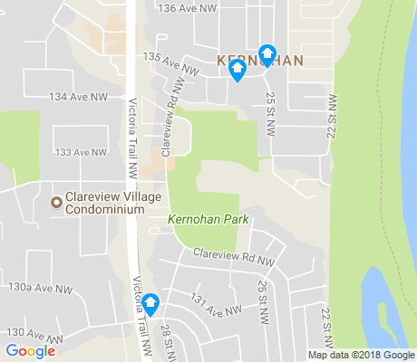 map of Kernohan apartments for rent
