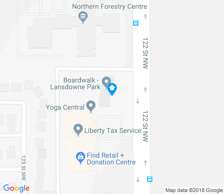 map of Lansdowne apartments for rent