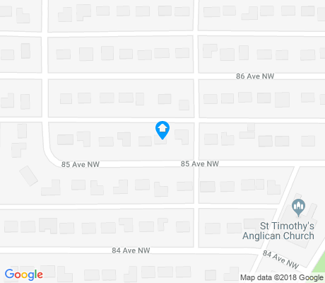 map of Laurier Heights apartments for rent