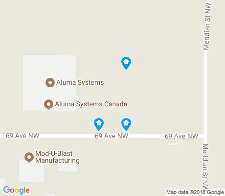 map of Maple Ridge Industrial apartments for rent
