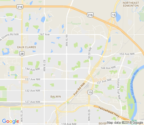 map of McLeod apartments for rent