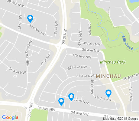 map of Minchau apartments for rent