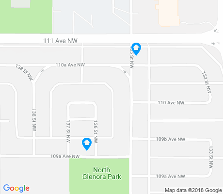 map of North Glenora apartments for rent