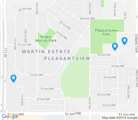 map of Pleasantview apartments for rent