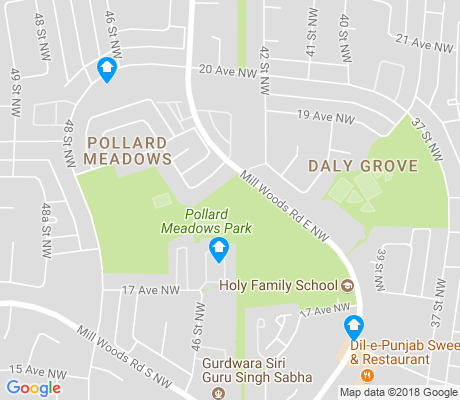 map of Pollard Meadows apartments for rent