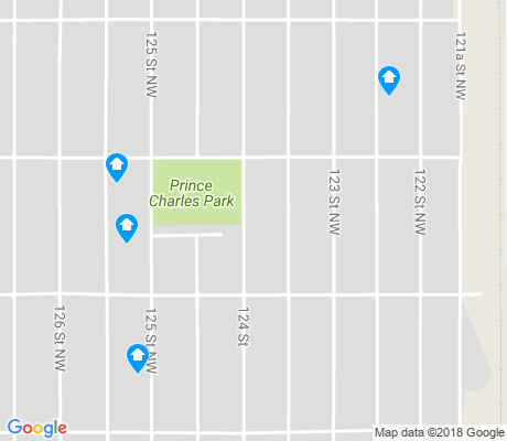 map of Prince Charles apartments for rent