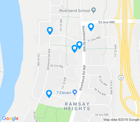 map of Ramsay Heights apartments for rent