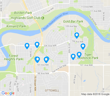 map of River Valley Gold Bar apartments for rent