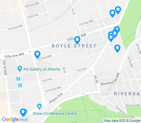 map of Riverdale apartments for rent