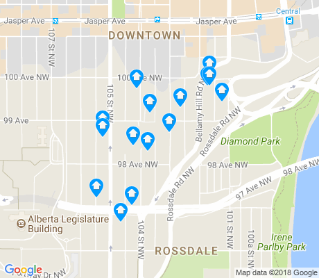 map of Rossdale apartments for rent