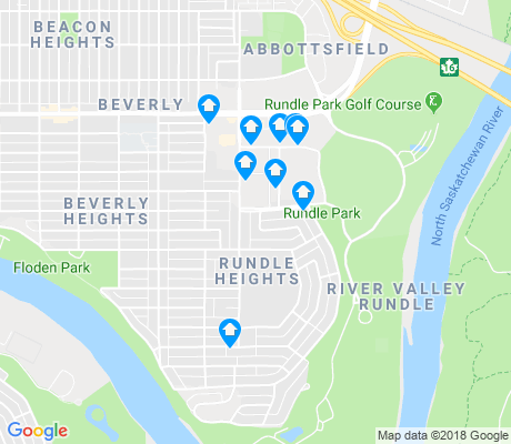 map of Rundle Heights apartments for rent
