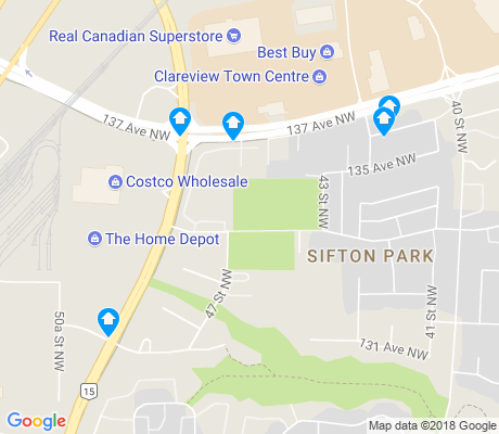 map of Sifton Park apartments for rent