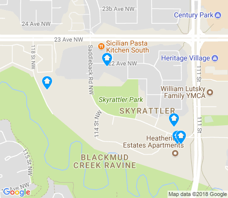 map of Twin Brooks apartments for rent