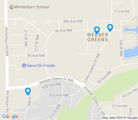 map of Webber Greens apartments for rent