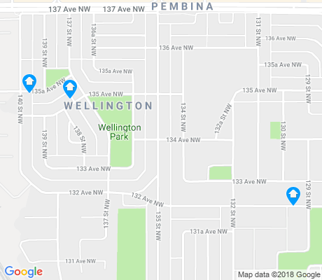 map of Wellington apartments for rent