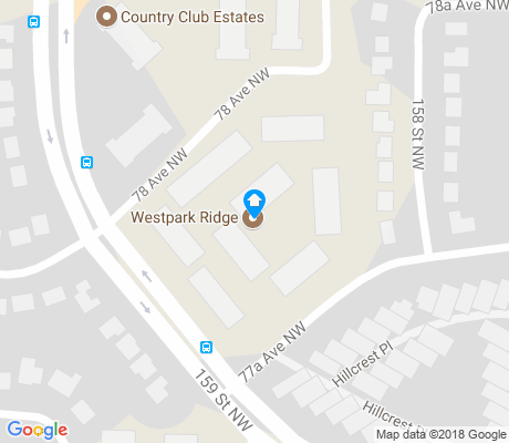 map of Westridge apartments for rent