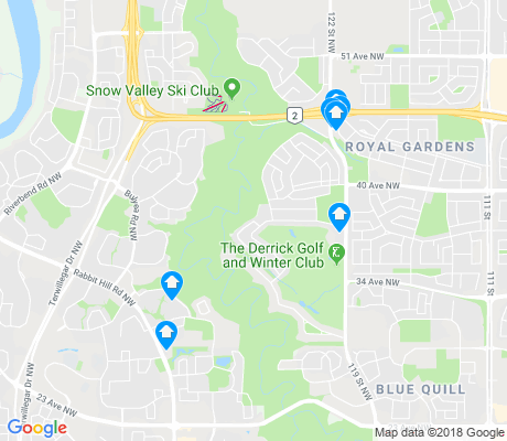 map of Whitemud Creek Ravine South apartments for rent