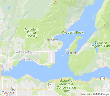 map of Cove Cliff apartments for rent