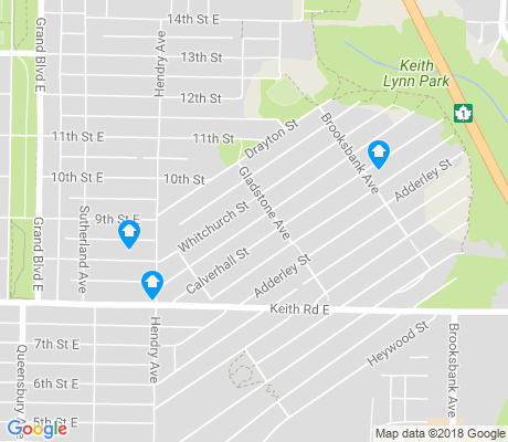 map of Keith Lynn apartments for rent