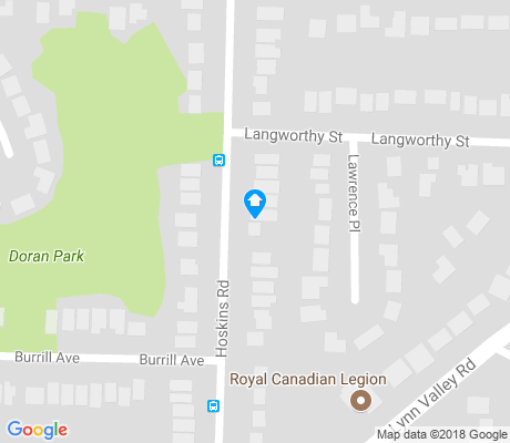 map of Lynn Canyon apartments for rent