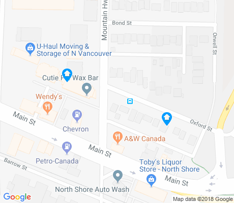 map of Lynnmour South apartments for rent