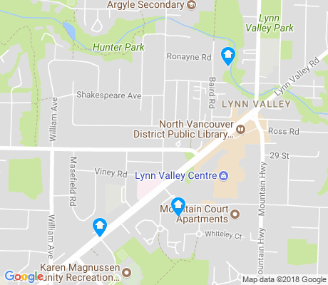 map of Valley Centre apartments for rent