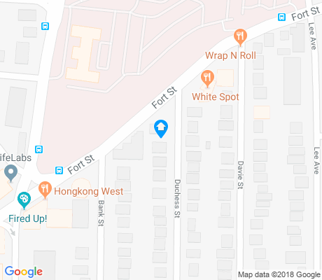 map of North Jubilee apartments for rent