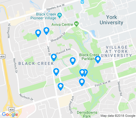 map of Black Creek apartments for rent