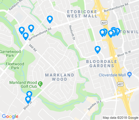 map of Markland Woods apartments for rent