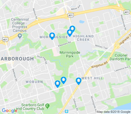map of Morningside apartments for rent