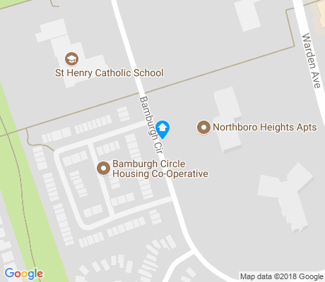 map of Steeles apartments for rent