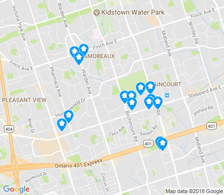 map of Tam O'Shanter-Sullivan apartments for rent
