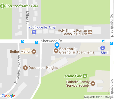 map of Normanview apartments for rent