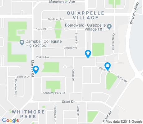 map of Whitmore Park apartments for rent