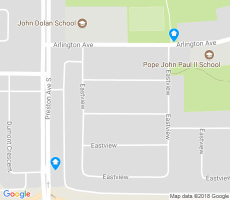map of Eastview apartments for rent