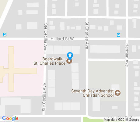 map of Exhibition apartments for rent