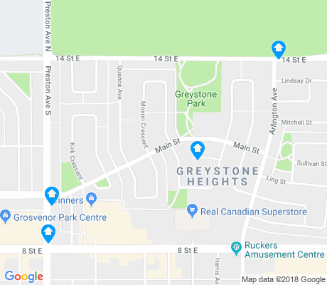 map of Greystone Heights apartments for rent