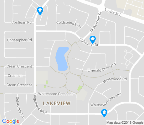 map of Lakeview apartments for rent