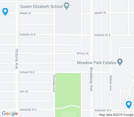 map of Queen Elizabeth apartments for rent