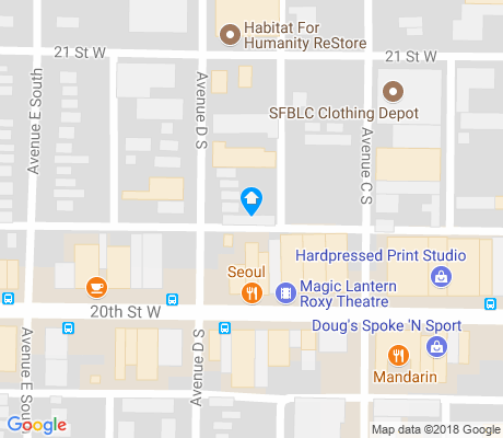 map of Riversdale apartments for rent