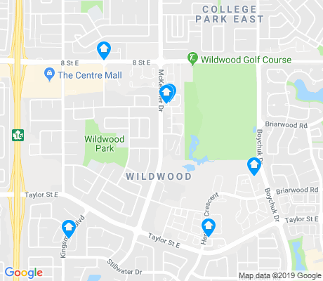 map of Wildwood apartments for rent
