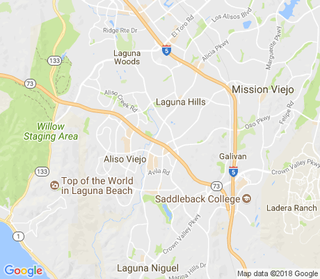 map of Aliso Creek Apartments apartments for rent