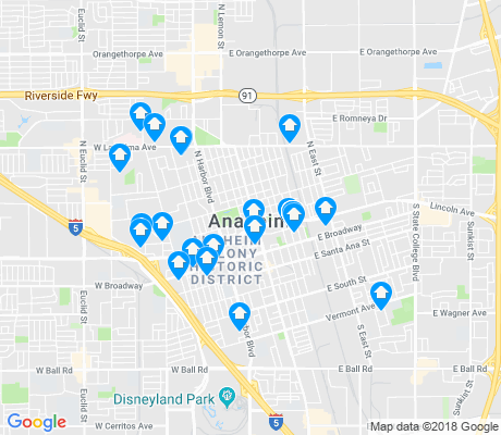 map of The Colony apartments for rent