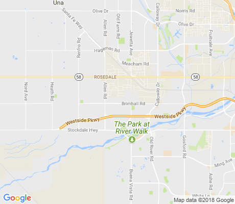 map of Brimhall Estates apartments for rent