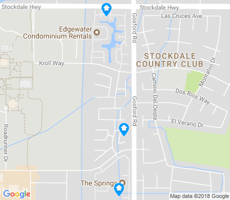 map of CSU Bakersfield apartments for rent