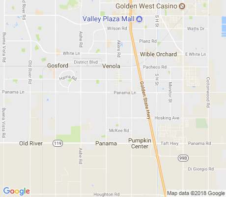 map of Ridgeview Estates apartments for rent