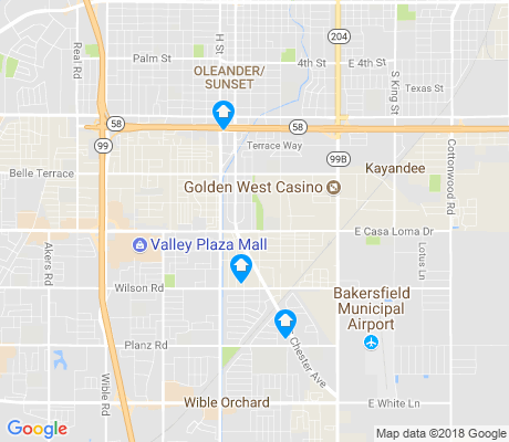 map of Southgate apartments for rent