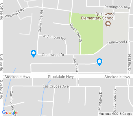 map of Stockdale Greens apartments for rent